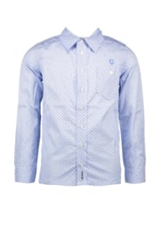 Le chic garcon shirt stripes & cubes