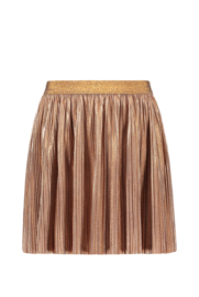 Like flo girls rose gold plisse skirt