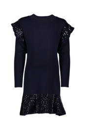 Le Chic dress cool knit sequins