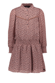 Flo girls woven crepe dress old pink
