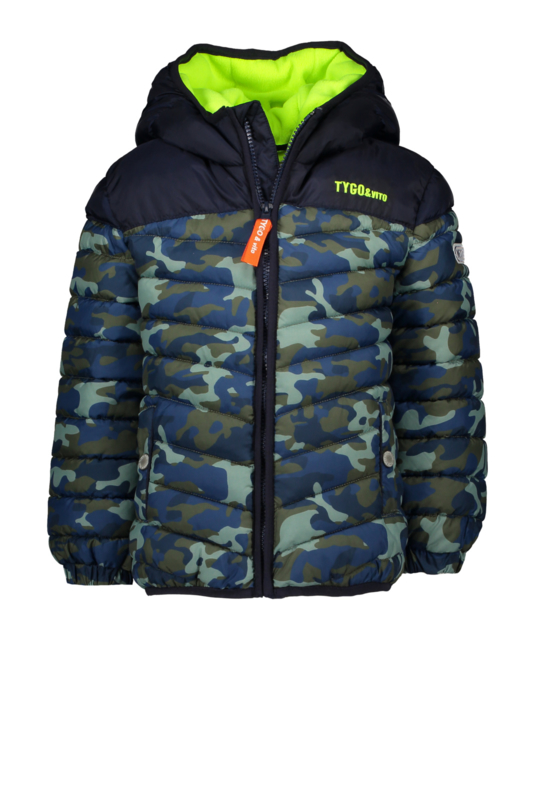 Tygo & Vito jacket AOP camo