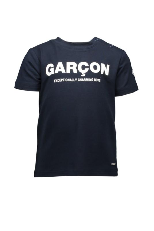 LCG Baby t-shirt garcon charming boys blue