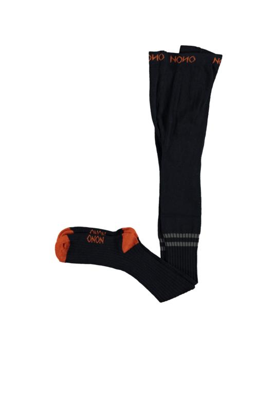 Nono luka tight knitted in rib sock navy