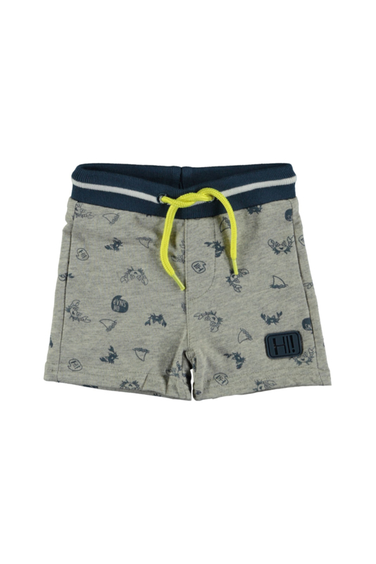 Bampidano baby boys sweat shorts allover print