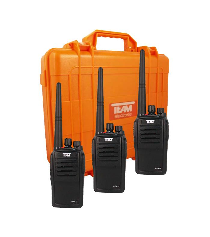 Team IP-DA32 Kofferset (Waterproof)