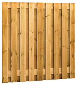 Grenen tuinscherm  19 plank