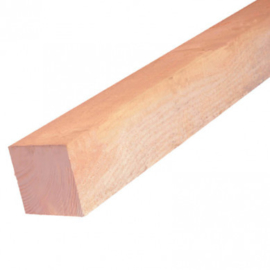 Paal lariks douglas 5,0 x 5,0 cm (210 cm)