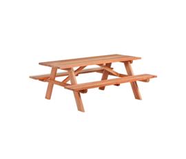 Hardhouten Picknicktafel 180 x 160 x 75 cm