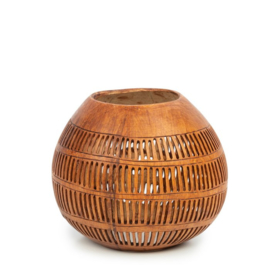 The Coconut Stripe I - Brown