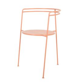 Point Chair, Dusty Peach