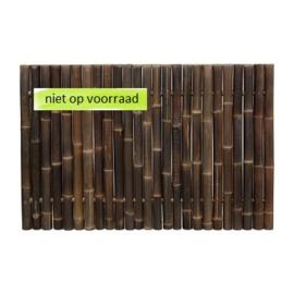 Zwart Bamboescherm Giant 180 x 120 cm