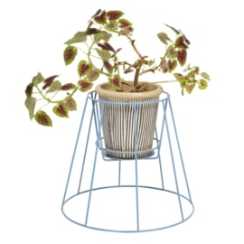 Cibele - Plant Stand - Small Pigeon Blue