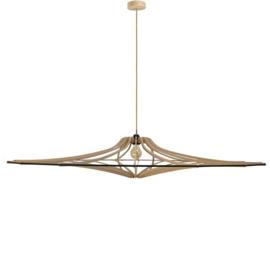 Hanglamp Design hout D124 cm SINGING BRUT