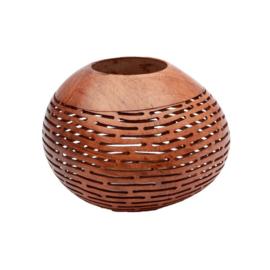 The Coconut Stripe- Brown