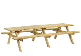 Picknicktafel Geïmpregneerd hout 300 x 154 x 74 cm