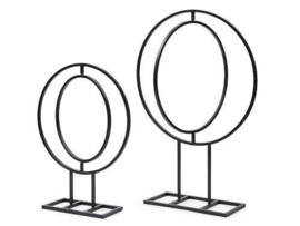 metalen frame rond