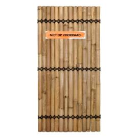 Halfrond Bamboescherm 90 x 180 cm