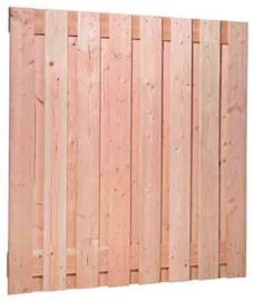 Douglas tuinscherm 19 planken