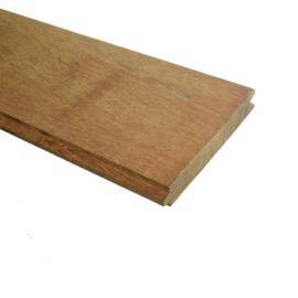 Azobé Damwand per breedtemeter, dikte 40x3000mm