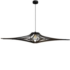 Hangend hout design zwart hout D124 SINGING BLACK