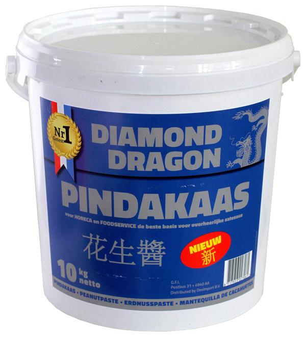 Diamond Dragon Pindakaas (10kg) *100% puur pindakaas.*