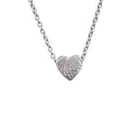 hanger zilveren hart