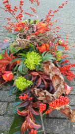 bloemstuk stoere herfst