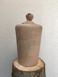 houten urn kamfer