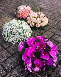 bloemstuk verbonden
