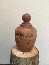houten urn lychee