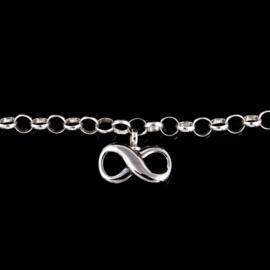 armband met infinity bedel