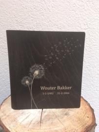 gepersonaliseerd condoleanceboek bruin small