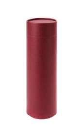strooi koker medium burgundy
