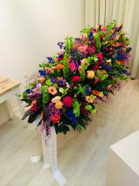 bloemstuk kistversiering