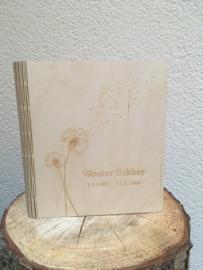 gepersonaliseerd condoleanceboek blank small