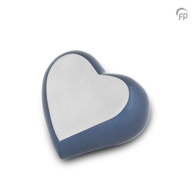 keepsake hart blauw