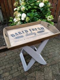Butler tray met bakker logo