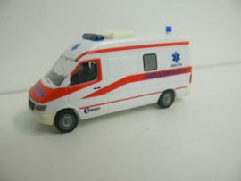 Herpa Mercedes Benz Miesen Ambulance Nederland Druten