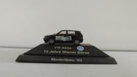 Herpa VW Aktie 15 Jahre WIENER BÖRSE Modellbau 1993  OVP