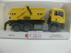 Wiking vrachtwagen Afzet bak MAN TGS EURO 6 MEILLER ovp 067906