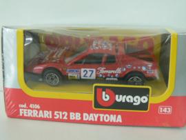 Burrago ferrari 512 BB Daytona 1/43