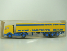 Wiking  Mercedes vrachtwagen Kluwe Spedition Baustoffe Berlin ovp 25 515