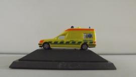 HERPA Mercedes Benz BINZ Ambulance Nederland 112 PC verpakking