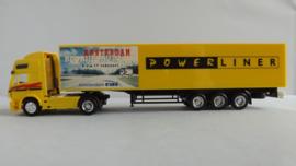 Herpa Mercedes vrachtwagen Amsterdam RAI Powerliner 1996 ovp