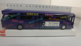 Busch USA Fishbowl Bus Information Campaign Bus Anti Drugs Ovp 44504