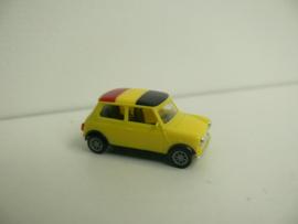 Herpa Mini Cooper Belgie
