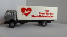 Heki vrachtwagen Mercedes HEKI ein Herz für die Modelleisenbahn