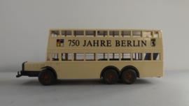 Wiking Nostalgie Dubbeldekker BVG Berlin 750 Jahre Berlin