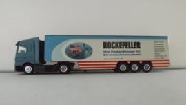 Dickie 1:87 vrachtwagen Mercedes Rockefeller ovp