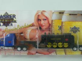 18 + )  Erotik Truck -  erotische vrachtwagen:  USA Truck Tasker Lager dieplader met loc ovp